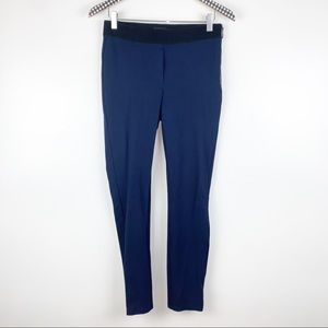 WHBM The Ankle Skinny Pants in Navy Blue 2
